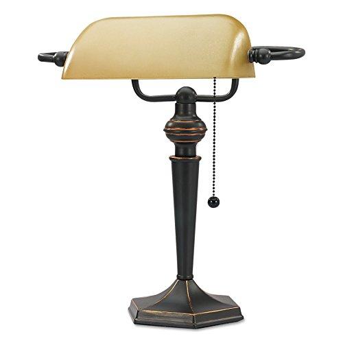 Alera ALE Traditional Banker's Lamp
