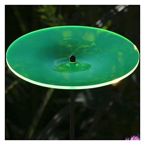 Bütic GmbH Plexiglas® Sonnenfänger Scheibe 14cm neon transparent fluoreszierend, Farbe:neongrün