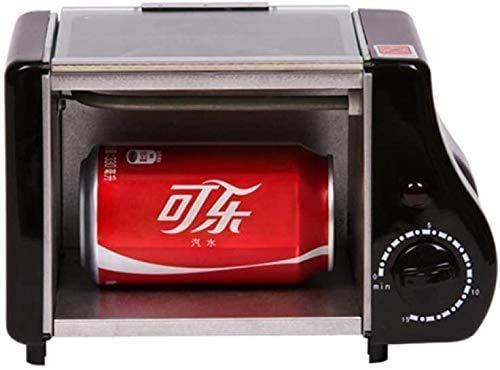 Schattige mini Oven Gebakken Bakken Twee in een ontbijt Machine Multi-Function Brood Roaster 1-15min Timing Roosteren Machine 220W 220V-220V XIUYU