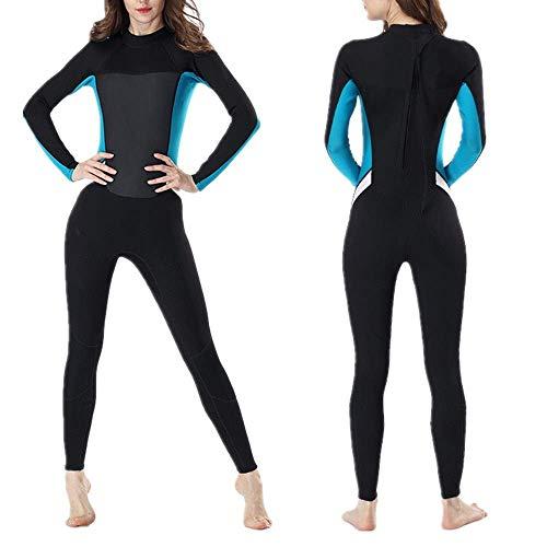 HJTLK Damen Badeanzug, Damen Neoprenanzüge Damen Advanced Neopren Komplettset zum Surfen und Tauchen Damen Surfanzug