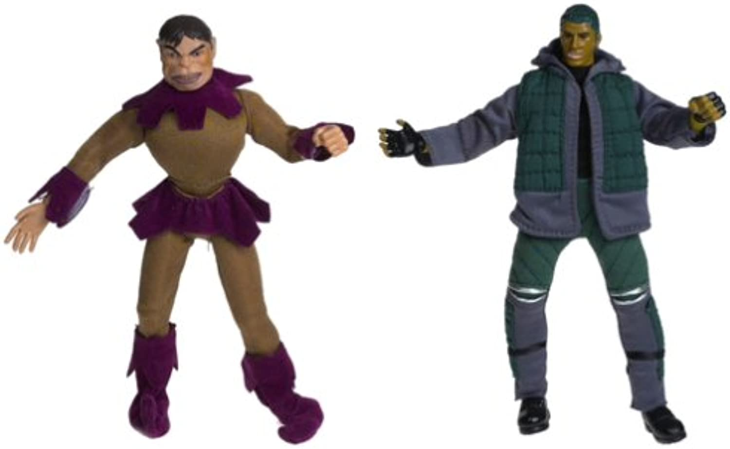 Marvel XMen the Movie X Mutations Toad Figures (Classic Toad & Movie Toad)