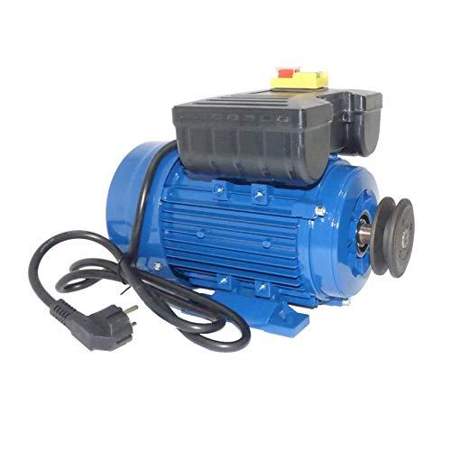 Motor de 0,55 KW / 0,75 CV monofásico 220V de alto par de arranque para hormigonera