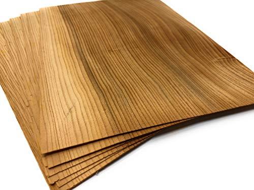 15-19 aromatische Furniere in der Holzart Zeder, Furnier geeignet für: Modellbau Restauration zum Basteln Intarsien