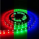 HSLY Tira de Luz LED Bluetooth Multicolor Luces LED RGB 5050 Iluminación de Música con Control Remoto de 44 Teclas 16 Millones Colores 28 Estilos Decoración Para Habitación Fiestas
