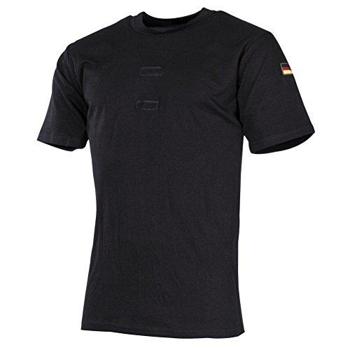 Original BW Bundeswehr Unterhemd T-Shirt Tropenhemd schwarz Größe 7