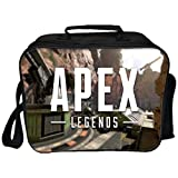 Apex Legends Cross-Body Bag Apex Kids Boys School Bag Creative Lunch Bag Estudiante Bento Polyester Ice Pack Lunch Box,10