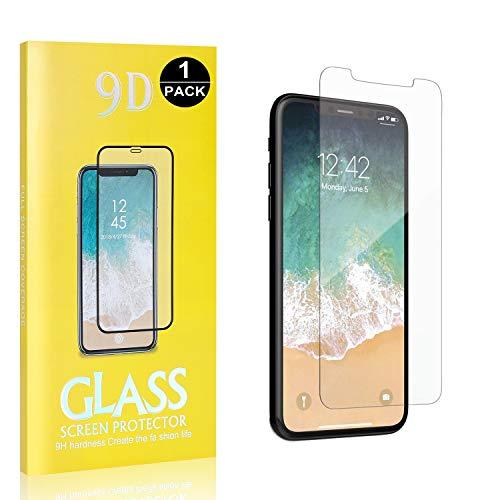 Bear Village® 9H Verre Trempé pour iPhone 11 Pro 5.8, Sans Bulles, Ultra Résistant Anti Rayures Protection en Verre Trempé Écran pour iPhone 11 Pro 5.8, 1 Pièces