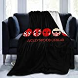 CSACEO Hollywood Undead Soft Micro Fleece Blanket Plush Bed Couch Throw Blanket Soft and Warm Throw Blanket 50'x40'