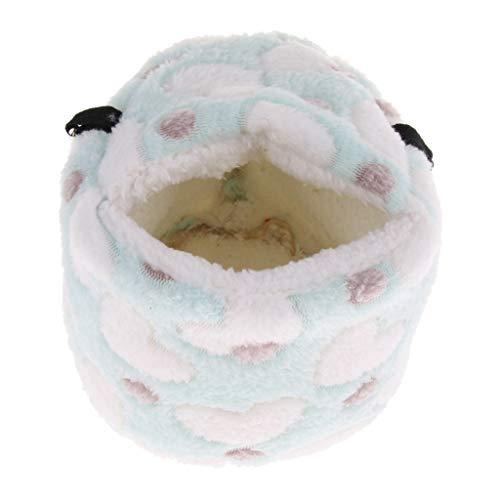 homozy Warm Plush Thickened Winter Hamster Mice - Blue