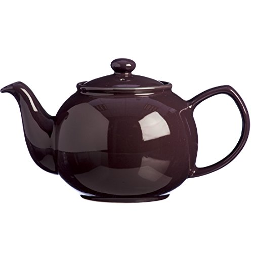 Price And Kensington Berry 6-Cup Tradizionale in gres fine teiera, Ceramica, Viola