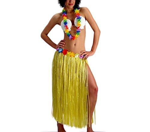 Mediawave Store Costume da Hawaiana Art e Party 440533 per Feste a Tema 3 Pezzi Taglia Unica