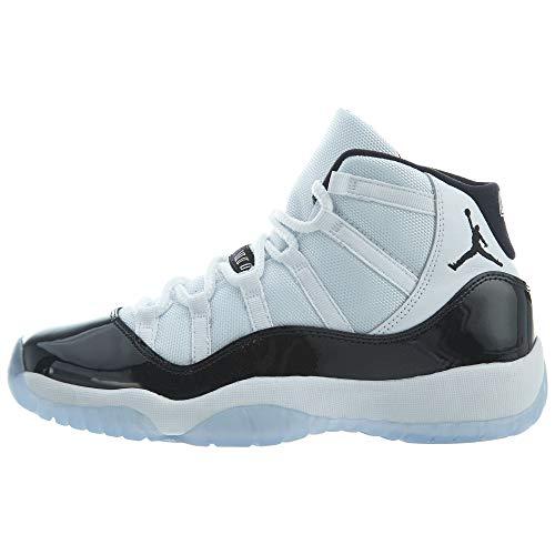 "Nike Big Kids Jordan Retro 11 ""Concord"" Basketball Shoe (4.5)"