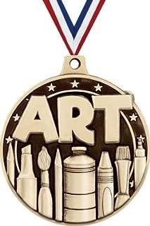 Gold Art Medals - 2