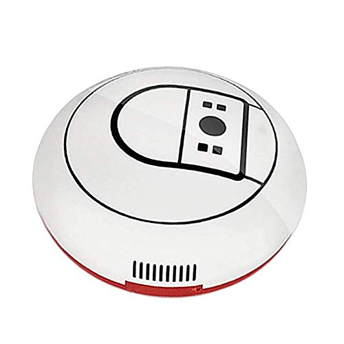 Great Features Of Robotic Vacuum Cleaner, Strong Suction, Super Quiet, Smart Self Charging Robotic V...