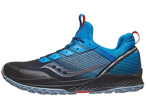 Saucony Men's S20521-2 Mad River TR Trail Running Shoe, Blue/Navy - 10.5 M US