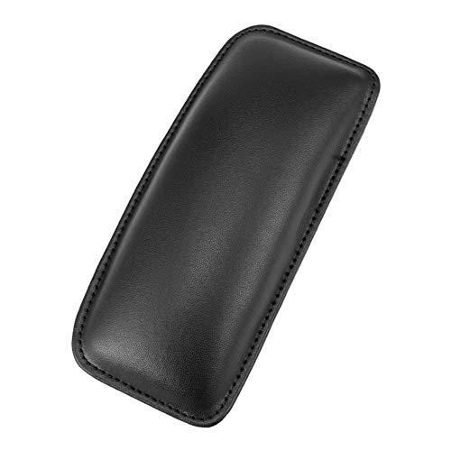 Almabner Car Armrest Cushion, Car Interior PU Leather Knee Pad, Driving Thigh Passenger Rest Support, Car Door Armrest Pillow Car Accessories