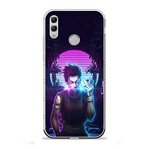 AriumClutch Soft Clear Coque Transparent Thin Rubber Shockproof Back Cover Case For Huawei P Smart 2019/Honor 10 Lite-Hunter¡ÁHUNTER Anime 8
