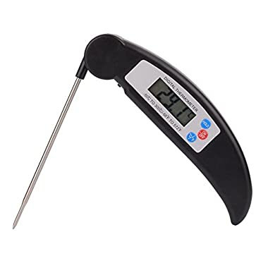 Digital Meat Thermometer, Cooking Thermometer Instant Read with Food Safe Probe for Grill Kitchen bbq Smoker Oven Oil Milk by Willamette Valley Sellers
