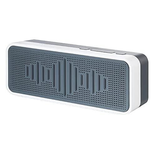 Altavoz Inalámbrico Tiempo de reproducción 30H Estéreo Verdadero portátil para Exteriores Altavoz Compatible con Bluetooth Impermeable para teléfono móvil