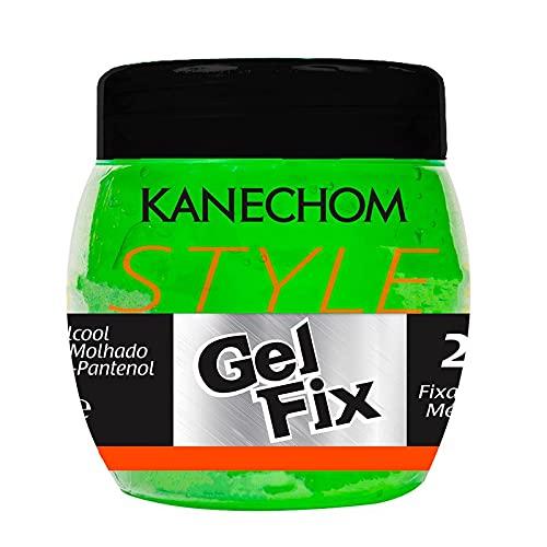 Kanechom - Linha Classics - Gel Fix Medio Verde 230 Gr - (Kanechom - Classics Collection - Gel Fix Medium Green 8.11 Net Oz) - Coiffant