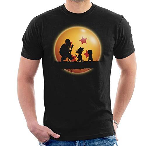 Cloud City 7 Kame Forest Silhouette Dragon Ball Z Men's T-Shirt