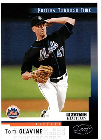 Tom Glavine Baseball Card 2004 Leaf Second Edition 263 NM MT product image