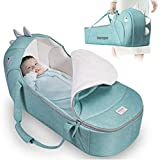 SUNVENO Baby Bed & Baby Lounger, Moses Basket Bassinet...
