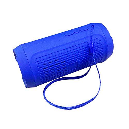 ASYPJP Altavoz Bluetooth Creative Mini Gift Conexión Inalámbrica U Disk Small Audio SubwooferBlue