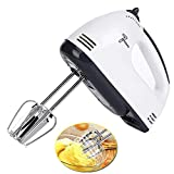 Elikliv Electric Hand Mixer with 7-speed Adjustable Egg Stick Stir Bar for Flour Jam Cake Stir