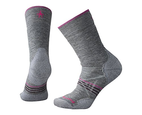 Smartwool Damen Women's Phd Outdoor M Crew Socke, Grau (Medium Grey), M