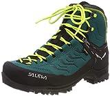 Salewa WS Rapace GTX, Chaussures de Randonnée Hautes Femme, Vert (Shaded...