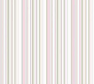 Dollhouse Jacobean Pink Stripe by Itsy Bitsy