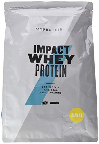 Myprotein Impact Whey Protein Banana, 1er Pack (1 x 2500 g)
