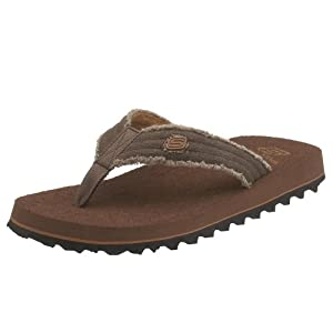 Skechers USA Men's Fray Cotton Thong