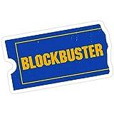 rangerpolocon Blockbuster Video Logo Stickers (3 Pcs/Pack) 7186666035139