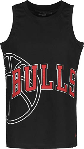 New Era NBA Basketball Graphic Chicago Bulls Canotta Black