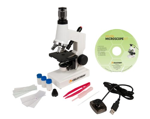 Celestron 44320 Microscope Digital Kit MDK,White