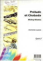 Partitions classique ROBERT MARTIN NICOLAS R. - PRLUDE ET CHABADA Clarinette