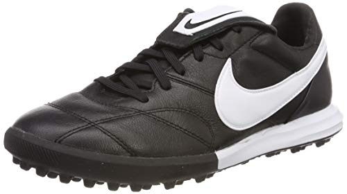 Nike Men's Soccer Premier II Turf Shoes (7 D US) Black/White