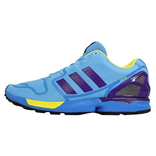 adidasZX Flux - Zapatillas de casa Hombre, Color Azul, Talla 4