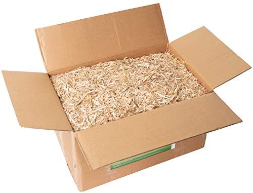 Jumbogras® Kleintier-Einstreu 70 l, 10 kg aus Miscanthus/Elefantengras/Chinagras, extrem saugfähige Häckselgut-Streu, günstige Stroh- u. Sägespäne/Holzspäne-Alternative für sauberen Käfig