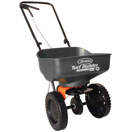 Scotts Turf Builder EdgeGuard Mini Broadcast Spreader (Holds up to 5,000 sq...