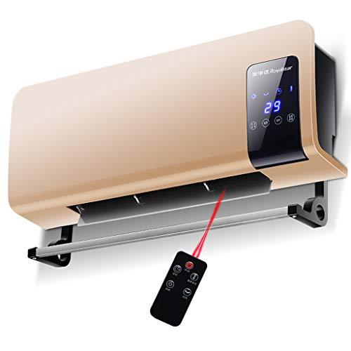 HSJ WYQ- Calentador de hogar Calentador de baño montado en la Pared Ahorro de energía a Prueba de Agua Calefacción