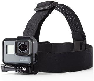 O RLY Adjustable Elastic Head Strap Mount for GoPro Hero 4 5 6 7Black 8 Cam SJCAM/Apeman/campark/akaso Action Camera Acces...