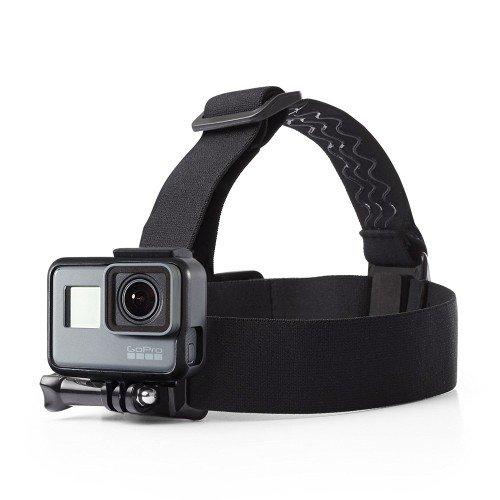 O RLY Verstelbare Elastische Hoofdband Mount voor GoPro Hero 4 5 6 7 Cam SJCAM/Apeman/campark/akaso Action Camera Accessoires