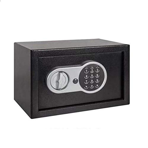 Cabinet Safes Pure Steel Plate Passwort Key Safe Small Safe Mini In-Wall Safe Office Anti-Diebstahl (Color : E)