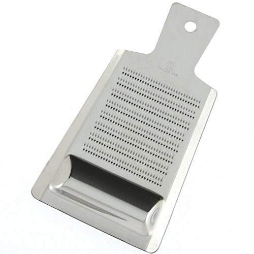 Kotobuki Stainless Steel Grater with Well, Large