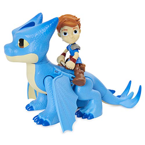 Dreamworks Dragons Rescue Riders, Winger and Dak, Dragon and Viking Figures with Sounds and Phrases