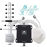 Cell Phone Signal Booster 850/1700/2100MHz Dual Band GSM AWS Band 5 Band 4