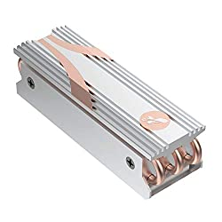 Sabrent M.2 2280 SSD Rocket Heatsink in Silver (SB-HTSS)